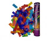 Пневмохлопушка 30 см Цветное бумажное конфетти