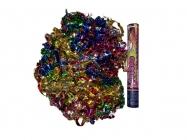 Пневмохлопушка 30см Цветной серпантин из металлической фольги