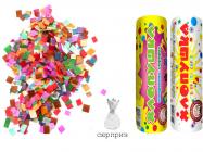 Хлопушка конфетти сюрприз 200мм 1шт